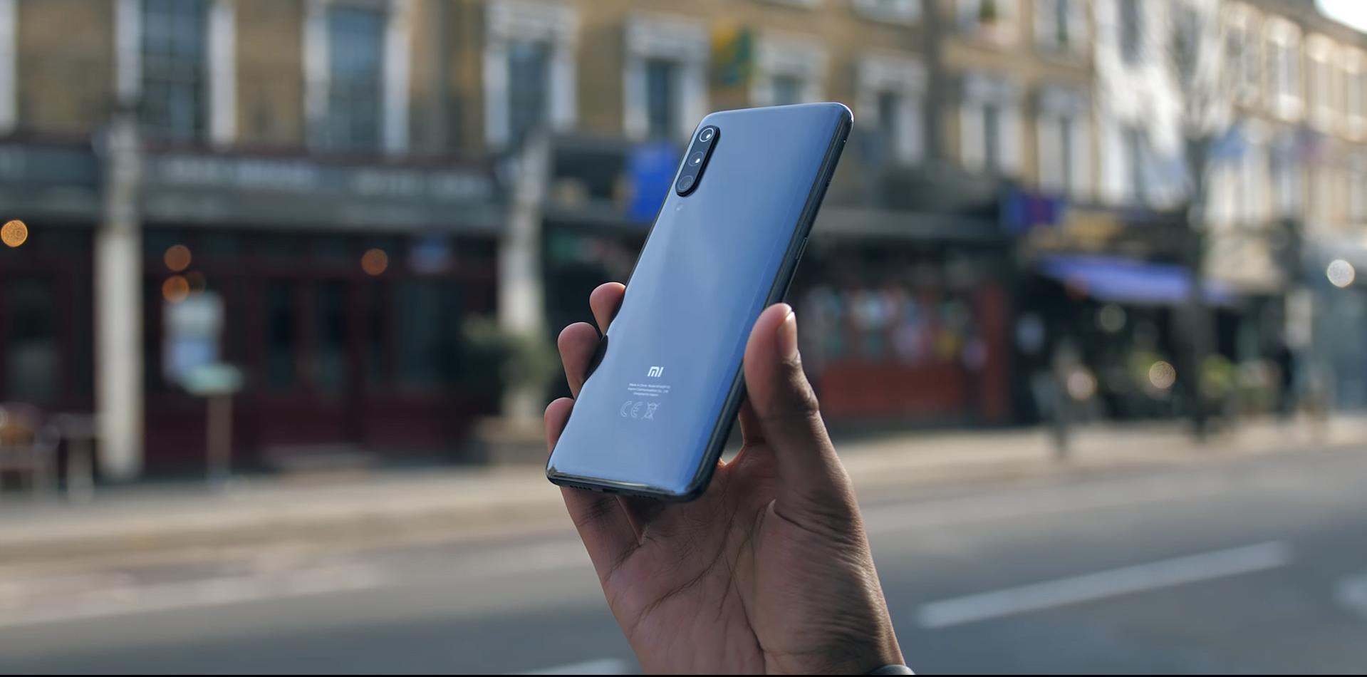 Xiaomi Mi 9 achterkant