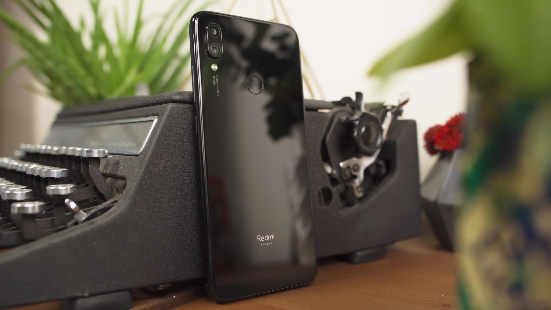 Xiaomi Redmi Note 7 achterkant